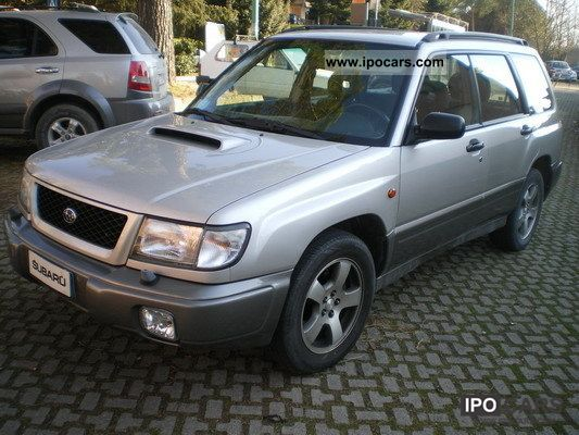 Subaru  Forester turbo BiFUEL G.TRAINO +3 ANN BOLLO FREE 1999 Liquefied Petroleum Gas Cars (LPG, GPL, propane) photo
