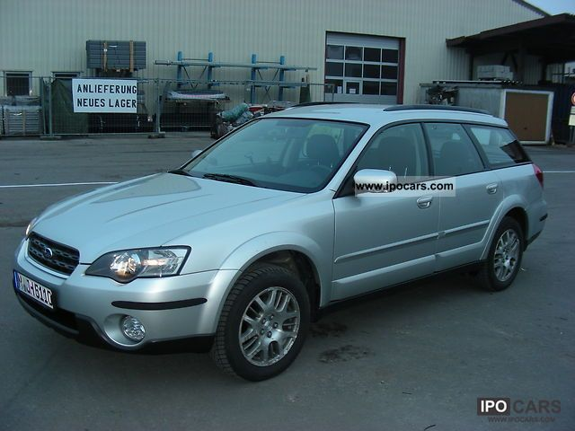 Subaru  OUTBACK 2003 Liquefied Petroleum Gas Cars (LPG, GPL, propane) photo