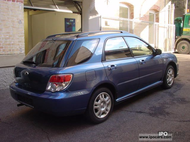 2007 Subaru Impreza 1 5r Car Photo And Specs