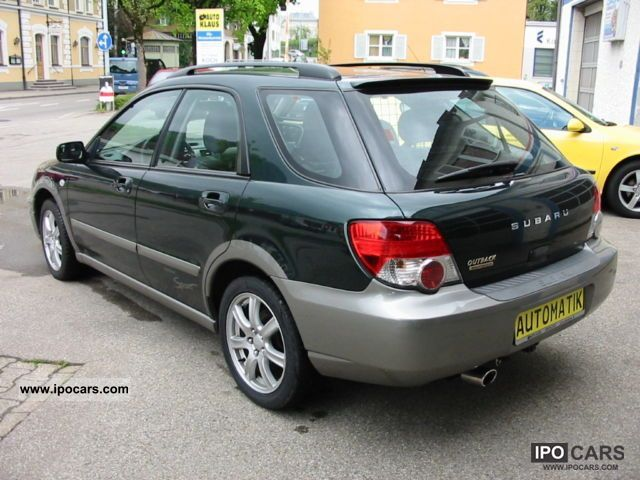2005 Subaru Impreza Outback Sport Combi 2 0 With Air Hitch Car