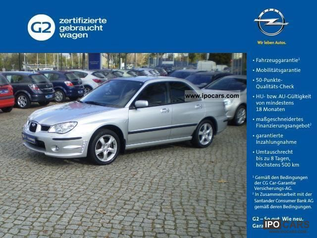 Subaru  Impreza 2.0R Comfort 2007 Liquefied Petroleum Gas Cars (LPG, GPL, propane) photo