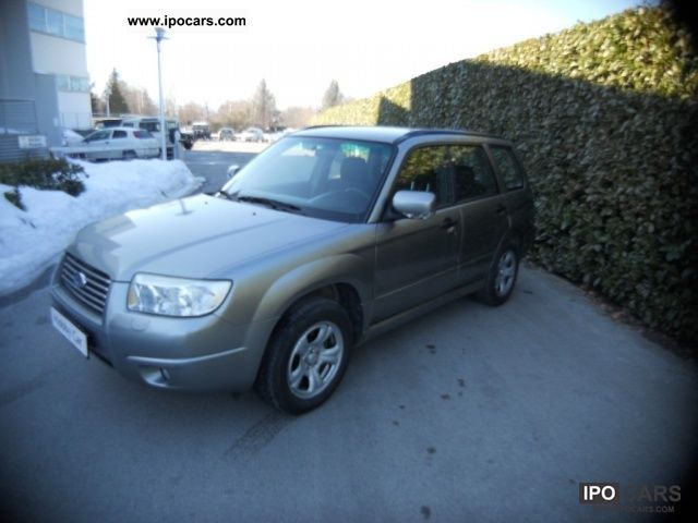 Subaru  Forester FORESTER 2.0 X BI-FUEL 2008 Liquefied Petroleum Gas Cars (LPG, GPL, propane) photo