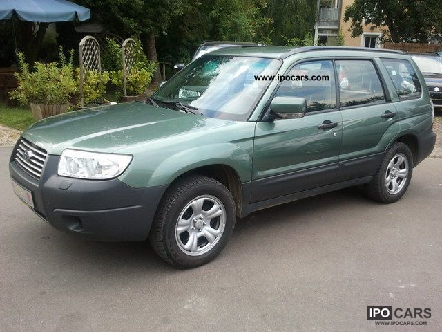 2006 subaru forester 2 0 x active car photo and specs. Black Bedroom Furniture Sets. Home Design Ideas