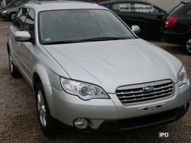 Subaru  OUTBACK gas 2007 Compressed Natural Gas Cars (CNG, methane, CH4) photo
