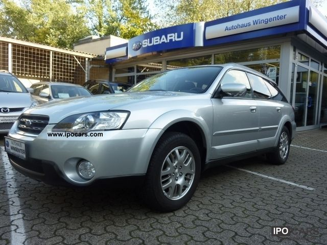 Subaru  OUTBACK 2.5 AUTO ACTIVE + LPG AUTO GAS 2006 Liquefied Petroleum Gas Cars (LPG, GPL, propane) photo