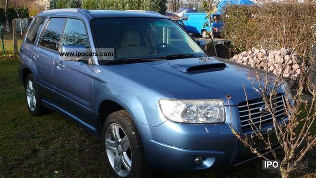 2007 Subaru  2.5XT turbo PANORAMIC ROOF LEATHER BEIGE-XENON Estate Car Used vehicle photo