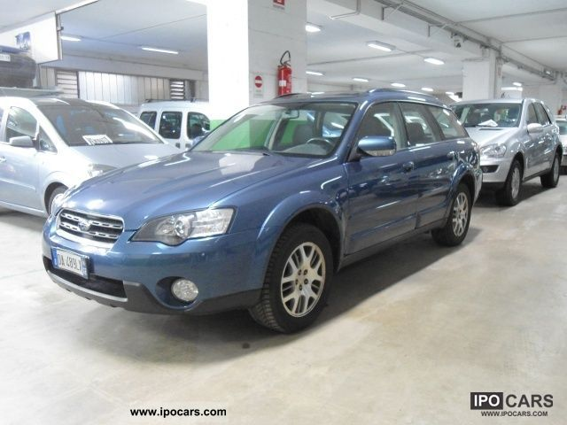 Subaru  OUTBACK 2.5 16V FY Bi-Fuel 2006 Liquefied Petroleum Gas Cars (LPG, GPL, propane) photo