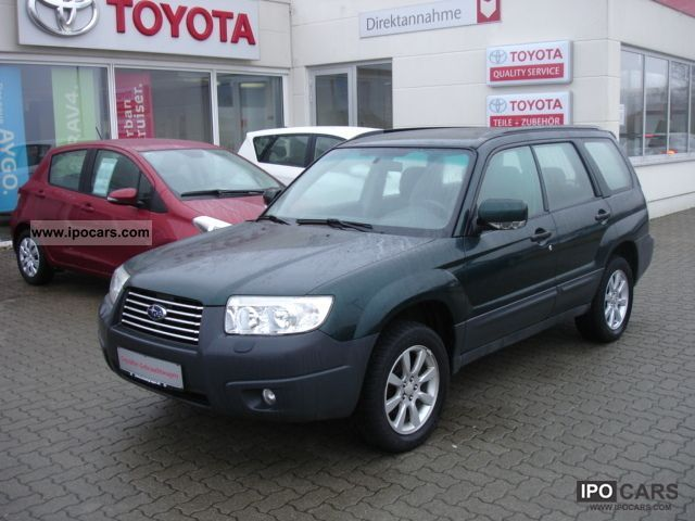 2008 Subaru  Forester 2.0 CX Estate Car Used vehicle photo