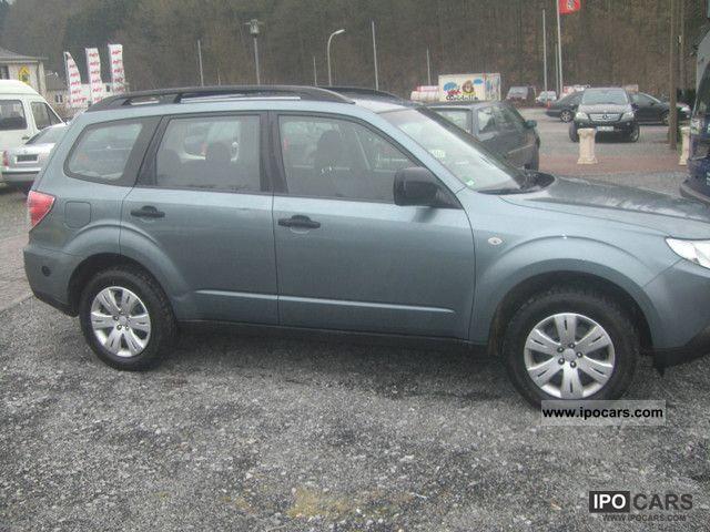 2009 subaru forester 2 0x active lpg gas car photo and specs. Black Bedroom Furniture Sets. Home Design Ideas