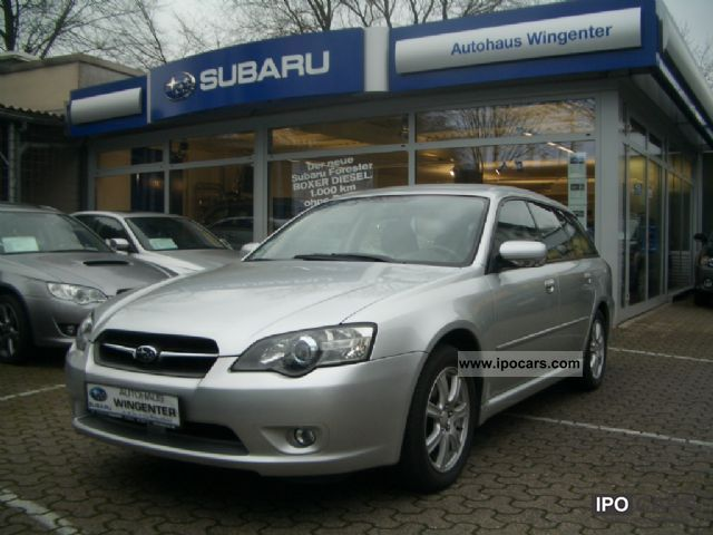 Subaru  LEGACY 5.2 Ecomatic 2003 Liquefied Petroleum Gas Cars (LPG, GPL, propane) photo