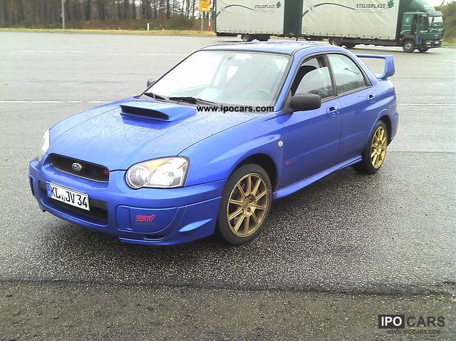 2005 subaru impreza 2 0 wrx sti car photo and specs. Black Bedroom Furniture Sets. Home Design Ideas