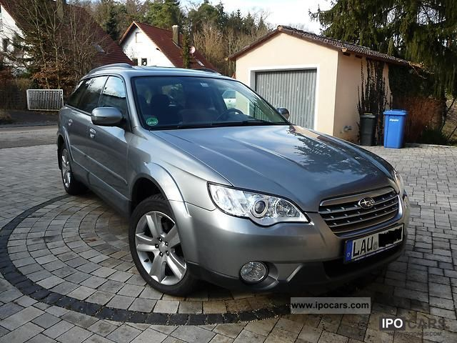 Subaru  OUTBACK 2007 Liquefied Petroleum Gas Cars (LPG, GPL, propane) photo