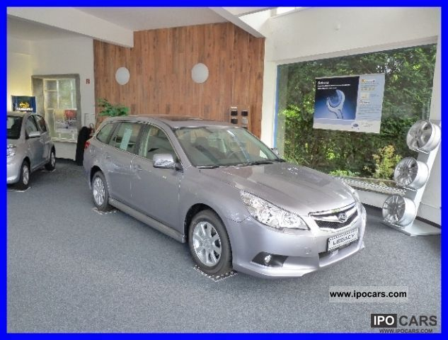 2010 Subaru  Legacy Kombi 2.0i Lineartronic Active LPG € 5 Estate Car Used vehicle photo