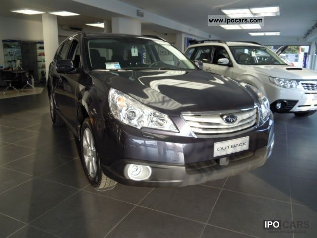 Subaru  OUTBACK 2.5i AWD Bi-Fuel LINEAR TREND TRONIC 2012 Liquefied Petroleum Gas Cars (LPG, GPL, propane) photo