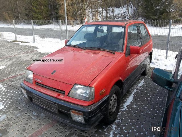 1993 Suzuki Swift 1 3 Gti  Even In Parts