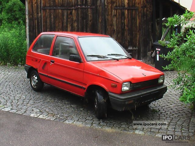 1987 Suzuki Alto Ga Car Photo And Specs