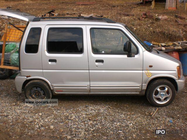 1999 Suzuki Wagon R 1 0 Gl Car Photo And Specs
