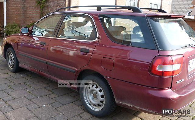 1998 Suzuki Baleno Kombi 16 GLX Estate Car