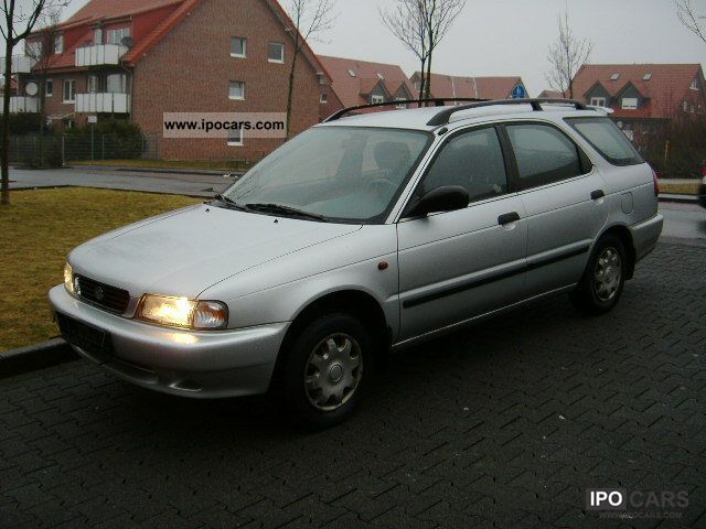1998 Suzuki Baleno Kombi 16 Climate TUV 122012 EUR 2 Estate Car