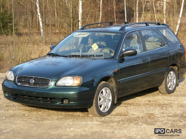 2000 Suzuki  Baleno Kombi 1.9 Diesel EURO-3 Estate Car Used vehicle photo
