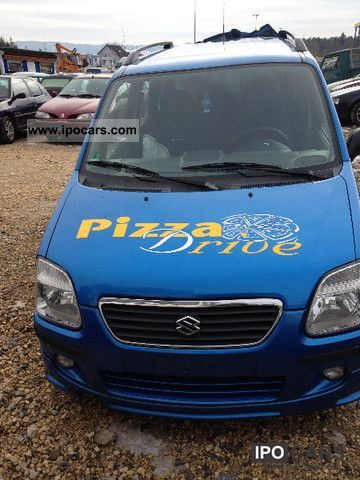 2002 Suzuki  Wagon R + 1.3 GL Small Car Used vehicle photo