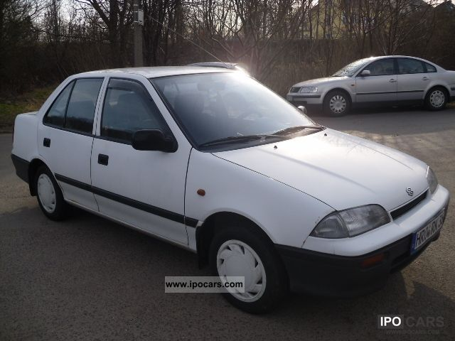 1992 Suzuki Swift 1.3 GL Sedan., 2.Hand, 41Tkm, TUV, E2, APC Small Car ...