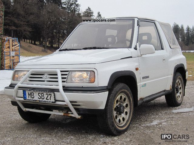 Bmw Pick Up Truck >> 1993 Suzuki Vitara - Car Photo and Specs