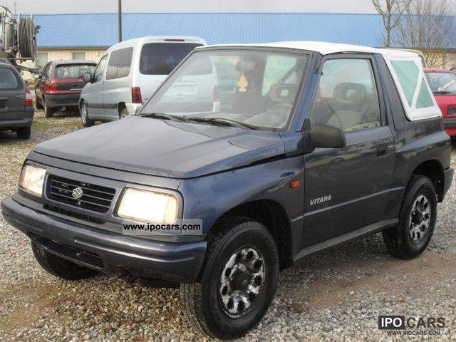 1996 suzuki vitara 4x4 convertible outdoors car photo and specs. Black Bedroom Furniture Sets. Home Design Ideas