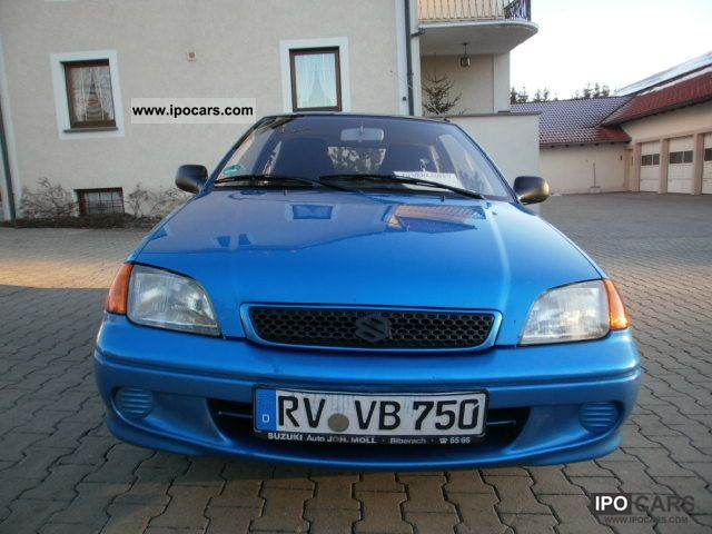2001 Suzuki  Swift 1.1GLS.,., SHEKHEFT ZAHNRIEMENGEWECHS Small Car Used vehicle photo