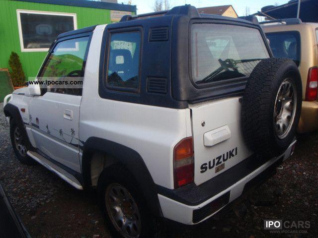 1989 Suzuki Vitara Car Photo And Specs