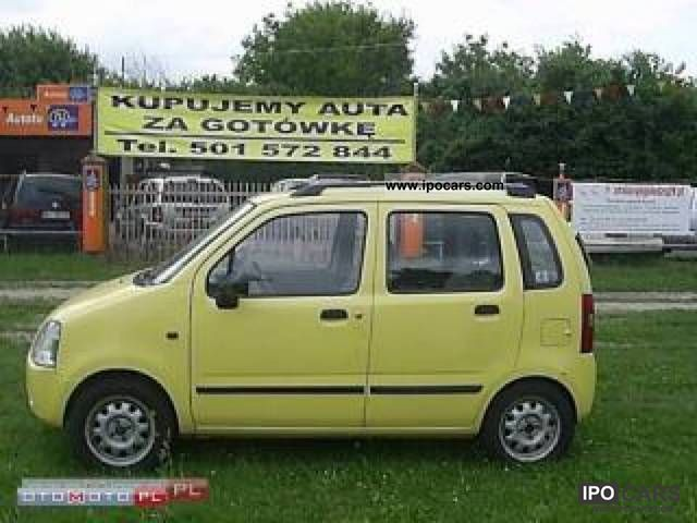 Suzuki  Wagon R + GAZ! SALON POLSKA! 2002 Liquefied Petroleum Gas Cars (LPG, GPL, propane) photo