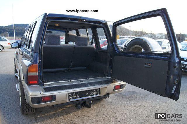 1996 Suzuki Vitara 2 0 V6 4x4 1 Hand Climate Sunroof