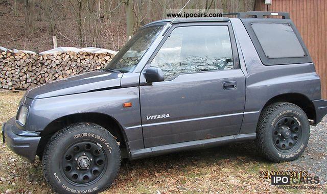 1998 Suzuki Vitara Off Road Vehicle Pickup Truck Used Photo