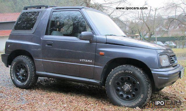 1998 Suzuki Vitara Car Photo And Specs