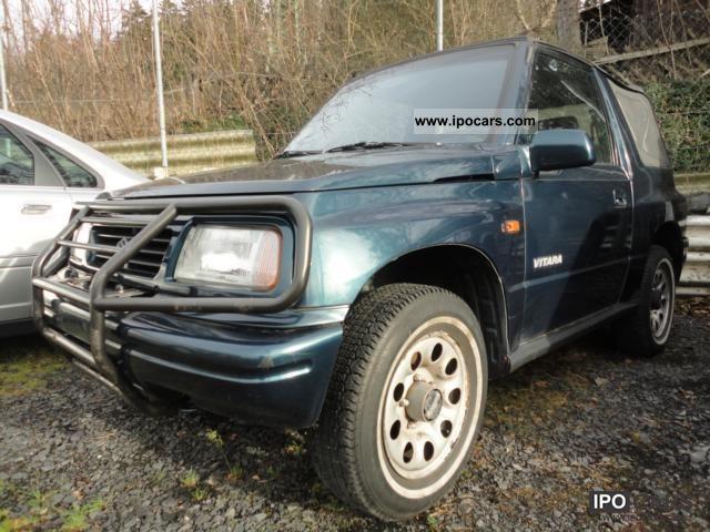 1997 Suzuki Vitara 16 L Cabrio 4x4 Off Road Vehicle Pickup Truck