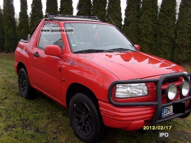 2000 Suzuki Grand Vitara Cabrio 20 Off Road Vehicle Pickup Truck