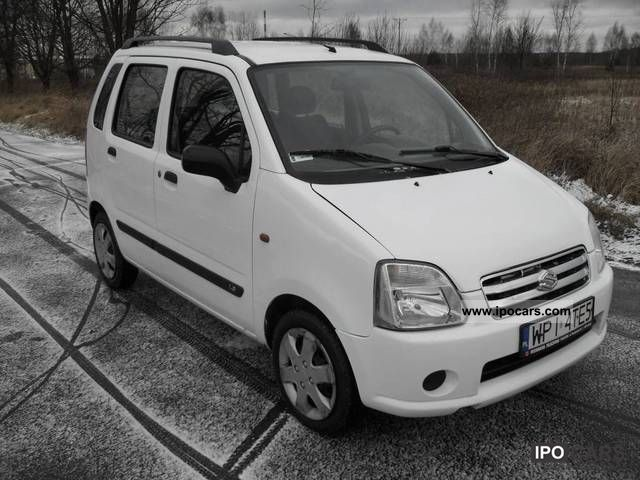 2004 Suzuki  Wagon R + 1.2 DDIS 70 KM DIESEL, ABS Small Car Used vehicle photo