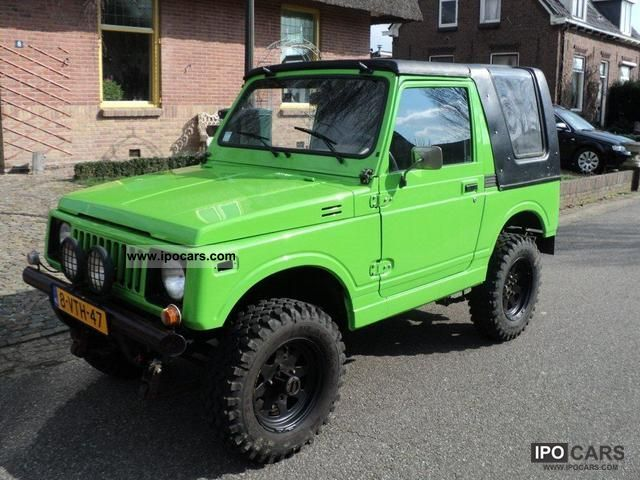 1983 Suzuki  SJ Samurai Off-road Vehicle/Pickup Truck Used vehicle photo