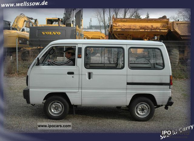 1990 Suzuki Carry Car Photo And Specs