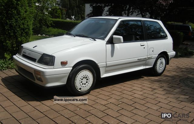 1987 suzuki swift 1 3 gti car photo and specs. Black Bedroom Furniture Sets. Home Design Ideas