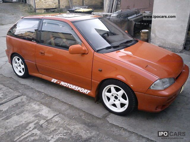 Suzuki  Swift 1.3 GTi 16V 85KW rally 1991 Race Cars photo