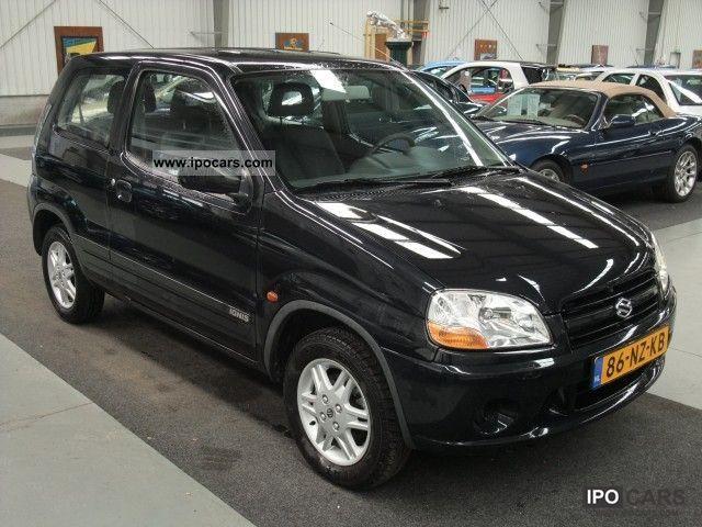 2004 Suzuki Ignis 13 16v 3drs Gl Stuurbekr Sp Velgen