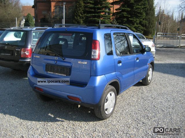 2004 suzuki ignis comfort car photo and specs. Black Bedroom Furniture Sets. Home Design Ideas