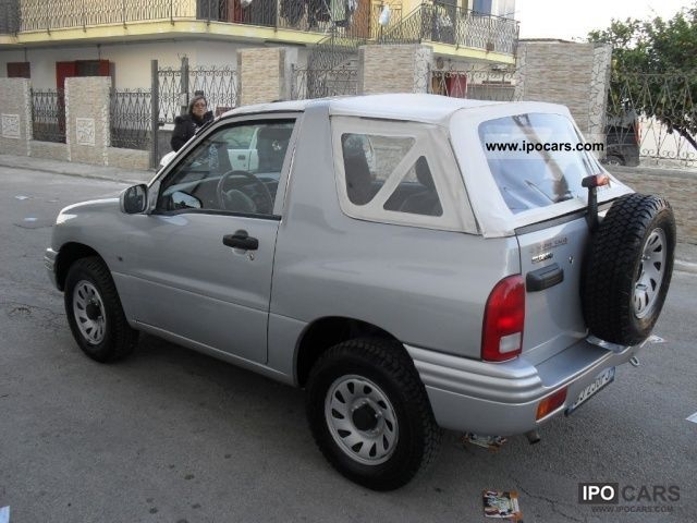 2000 suzuki grand vitara 16v cat 3 porte cabriolet car photo and specs. Black Bedroom Furniture Sets. Home Design Ideas
