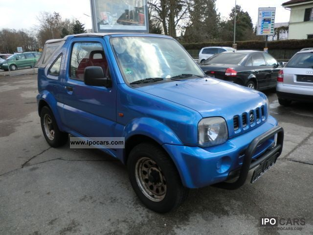 2001 suzuki jimny cabrio car photo and specs. Black Bedroom Furniture Sets. Home Design Ideas
