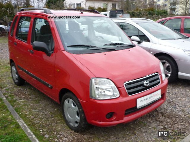 2004 Suzuki  Wagon R + 1.3 Van / Minibus Used vehicle photo