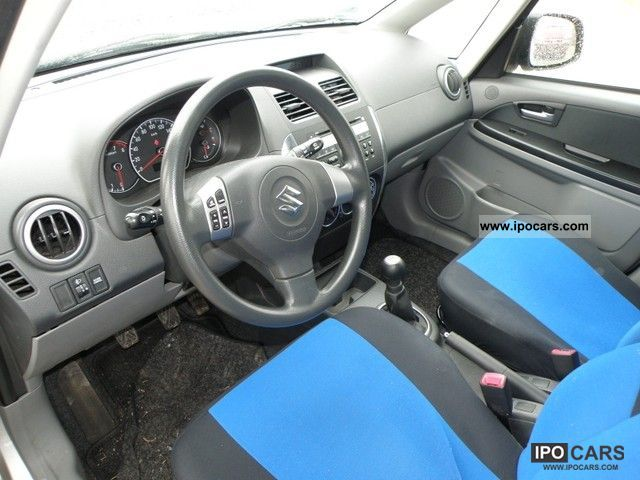 2006 Suzuki SX4 1.6 VVT 12/2006 Limousine Used vehicle photo 7