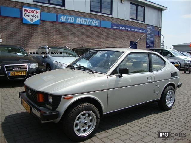 1982 Suzuki Sc 100 Gx Coupe De Luxe Car Photo And Specs