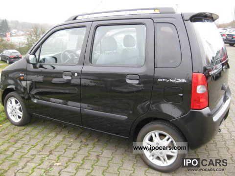 2006 Suzuki  Wagon R style Limousine Used vehicle photo