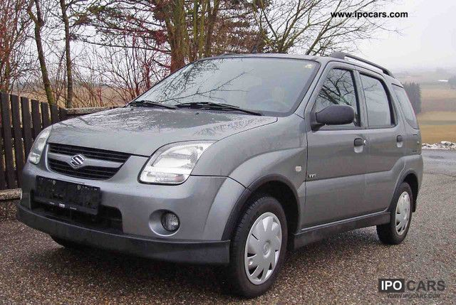 2006 suzuki ignis 1 3 4x4 x 45 car photo and specs. Black Bedroom Furniture Sets. Home Design Ideas